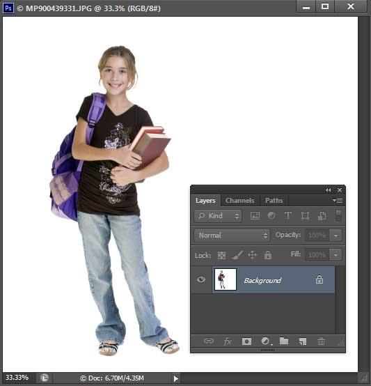 Buka Foto anda.