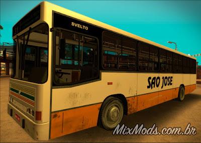 mod ônibus brasileiro de são josé para gta sa