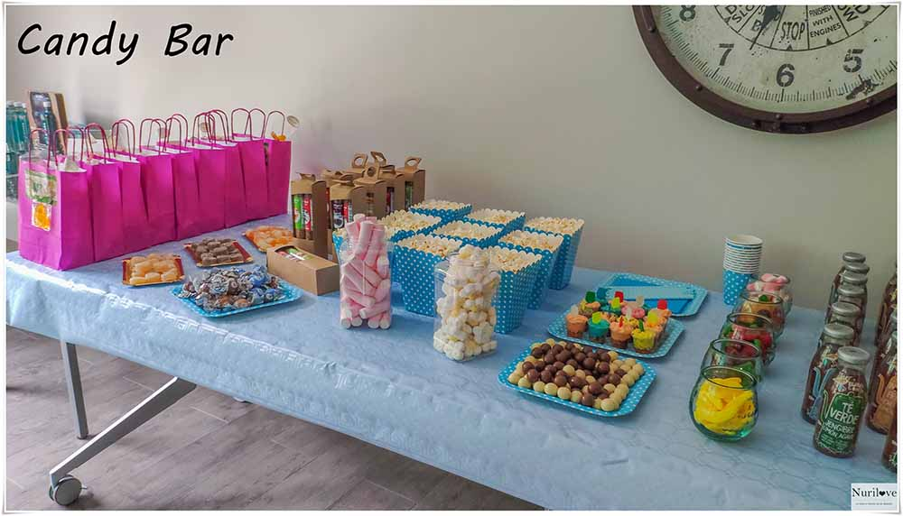 Candy Bar en el evento Bvloggersdonostia
