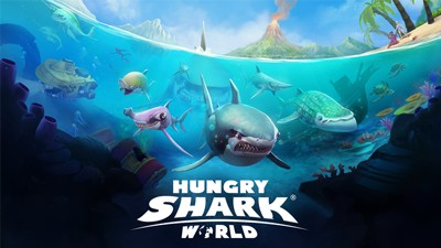 Hungry Shark World Mobile Game App