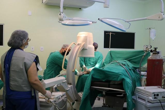 Mutirão de cirurgias ortopédicas atenderá pacientes internados no Hospital de Base, em Porto Velho