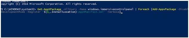 pengaturan aplikasi windows 10 tidak berfungsi