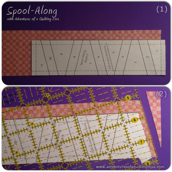 Spool Quilt Block Tutorial and Pattern