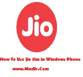 How To Get Use Jio Sim In Windows Phone/ PC / Dongle / Laptop: 100% Working Trick- Full Guide.