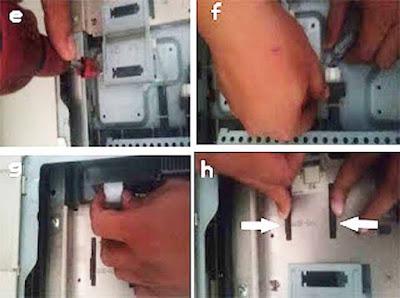 Panduan Lengkap Mengganti CCD Canon ir 5000/6000/5020/6020 dengan gambar.