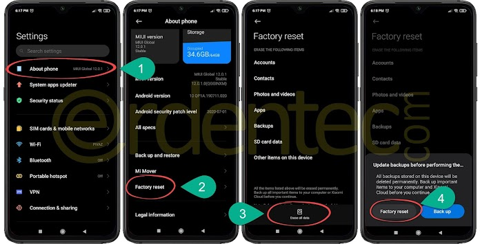 How to Hard Reset Xiaomi Phones