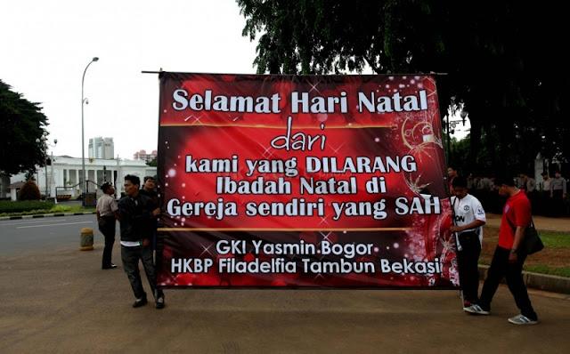 Nawacita Jokowi, Tapi Gereja Ini Masih Sembunyi-sembunyi Rayakan Natal