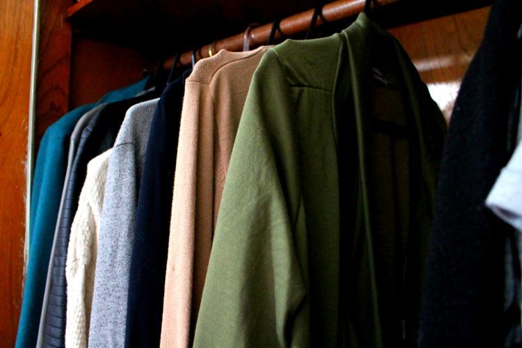 todos os casacos do meu Armário Capsula de inverno