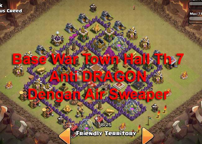 Base Coc Th 7 Defense Terkuat 2