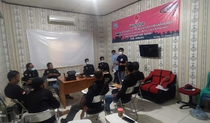 Penguatan Organisasi, DPC Garteks Serang Adakan Pelatihan Public Speaking