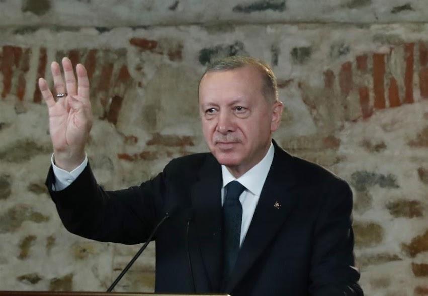 Ερντογάν: Προσπάθησαν να σφετεριστούν τα δικαιώματά μας