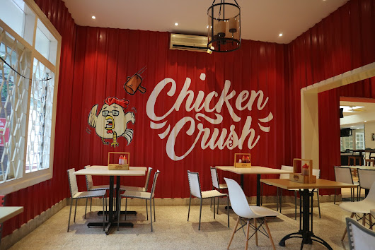 rainhanifa: Chicken Crush, Makan Kenyang Nongkrong Oke