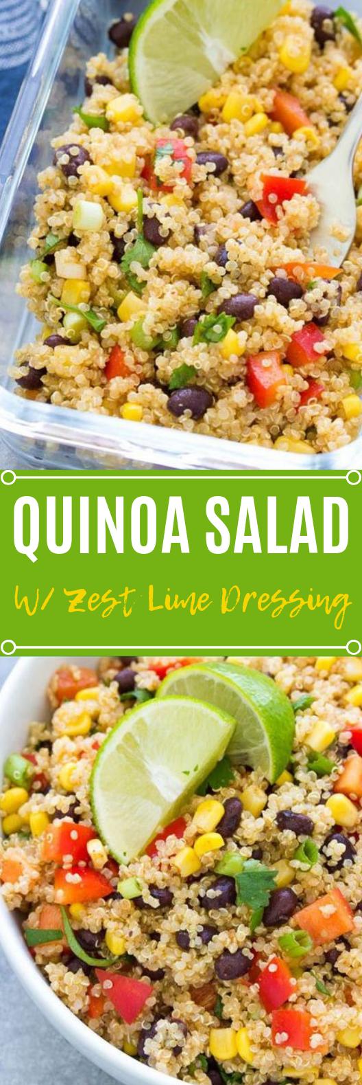 Southwest Quinoa Salad #vegansalad #quinoa