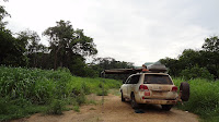 """The 1x1 of """"wild camping"""" with by camping car. Staying free in the nature with a campfire"""