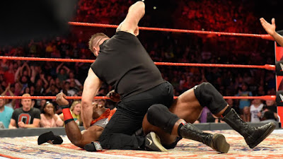 WWE Bobby Lashley Raw Owen Returns Jinder Mahal