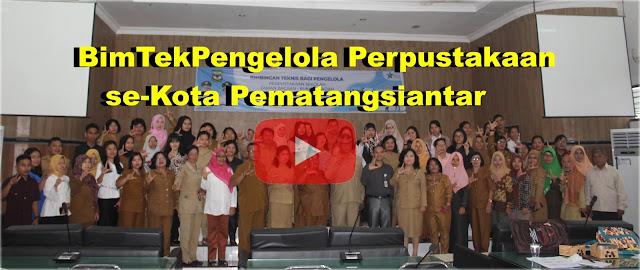 100 Pustakawan Siantar Dibimbing Pustawan Nasional dan Propinsi Sumut