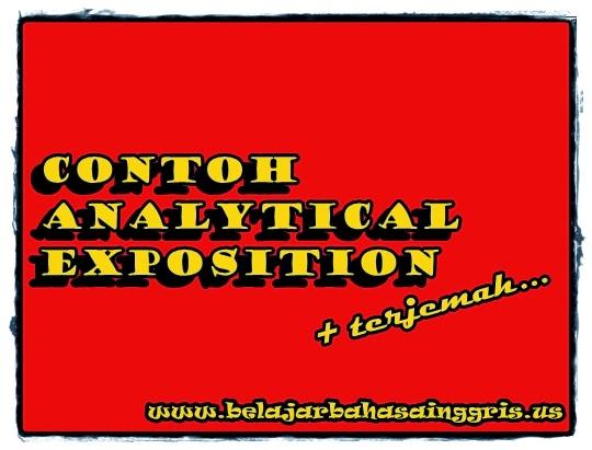 Contoh Teks Analytical Exposition Tentang Olahraga Contoh Z