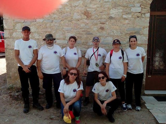 Καθοριστική η συμβολή της Ελληνικής Ομάδας Διάσωσης Αργολίδας στην ανεύρεση του αγνοουμένου ηλικιωμένου
