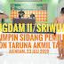 PANGDAM PIMPIN SIDANG PARADE CATAR AKMIL PANDA KODAM II/SRIWIJAYA TA 2020