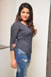 Actress Wamiqa Gabbi Stills in Ripped Jeans at Nannu Vadili Neevu Polevule Movie Release Press Meet  0030.jpg
