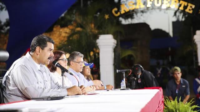 Maduro repudia ataque 'ilegal' y 'violador' de EEUU a Siria