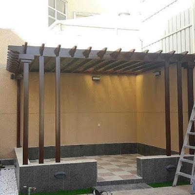 برجولات - برجولات خشبية - مظلات حدائق -مظلات ملاحق رؤية عصرية 2020-2030 | 0558448401