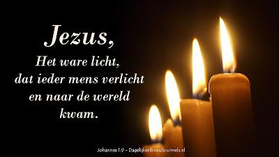 Jezus, het Licht voor de wereld