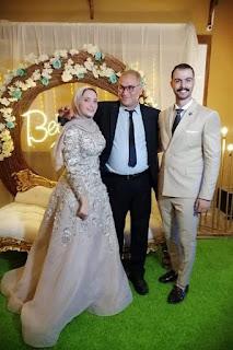 مدير ادارة مستشفيات الجيزة تهنئ د.محمد فوزي بخطوبة نجلة شقيقه