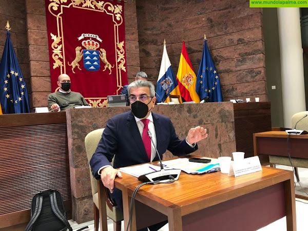 Canarias dará ayudas directas para empresas, pymes y autónomos por 1.309 millones de euros, tres puntos de su PIB