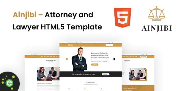 Best Attorney and Lawyer HTML5 Template