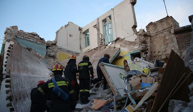 Η επόμενη ημέρα μετά τον ισχυρό σεισμό των 6,1 βαθμών στη Λέσβο