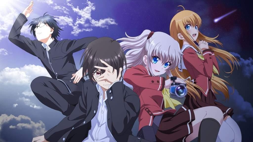جميع حلقات انمي Charlotte مترجمة اون لاين انمي تايتنز Anime Titans