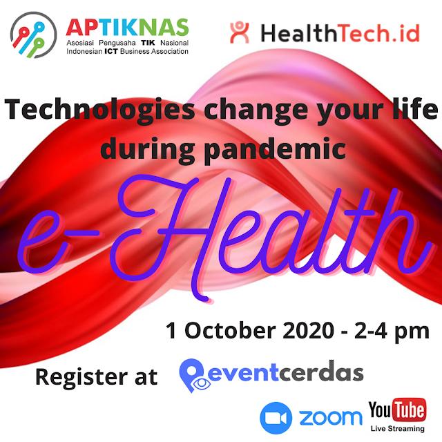 Bagaimana e-Health membantu Anda di masa pandemi - 1 Okt 2020