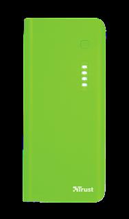 trust power bank 10000mah verde 22748