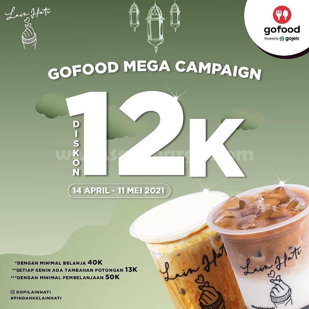 Kopi Lain Hati Promo Gofood Mega Campaign Diskon 12K