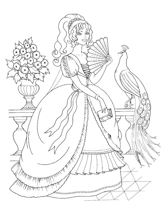 [Paling banyak dipilih] Gambar Mewarnai Princes