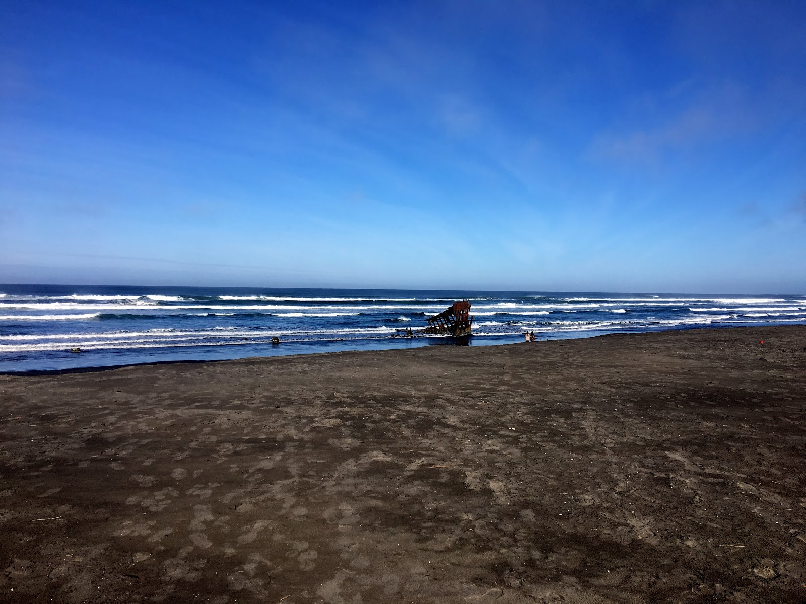 What Am I Doing?: The Wreck of the Peter Iredale Near ...
