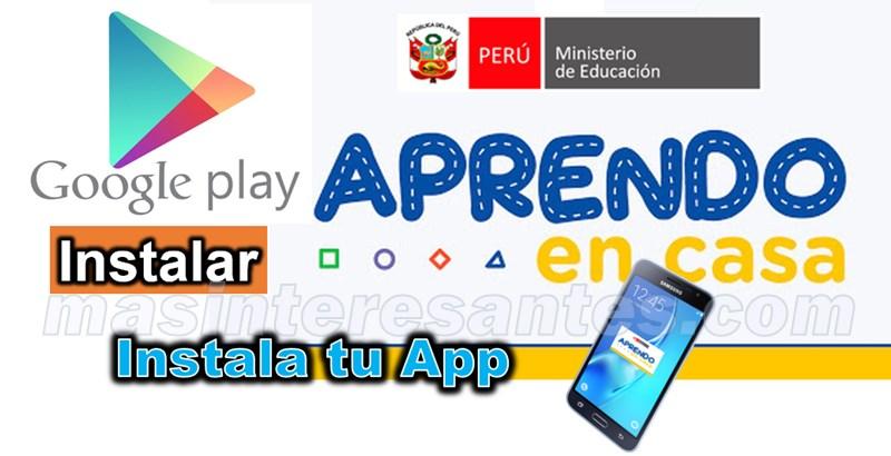 App de Aprendo en casa