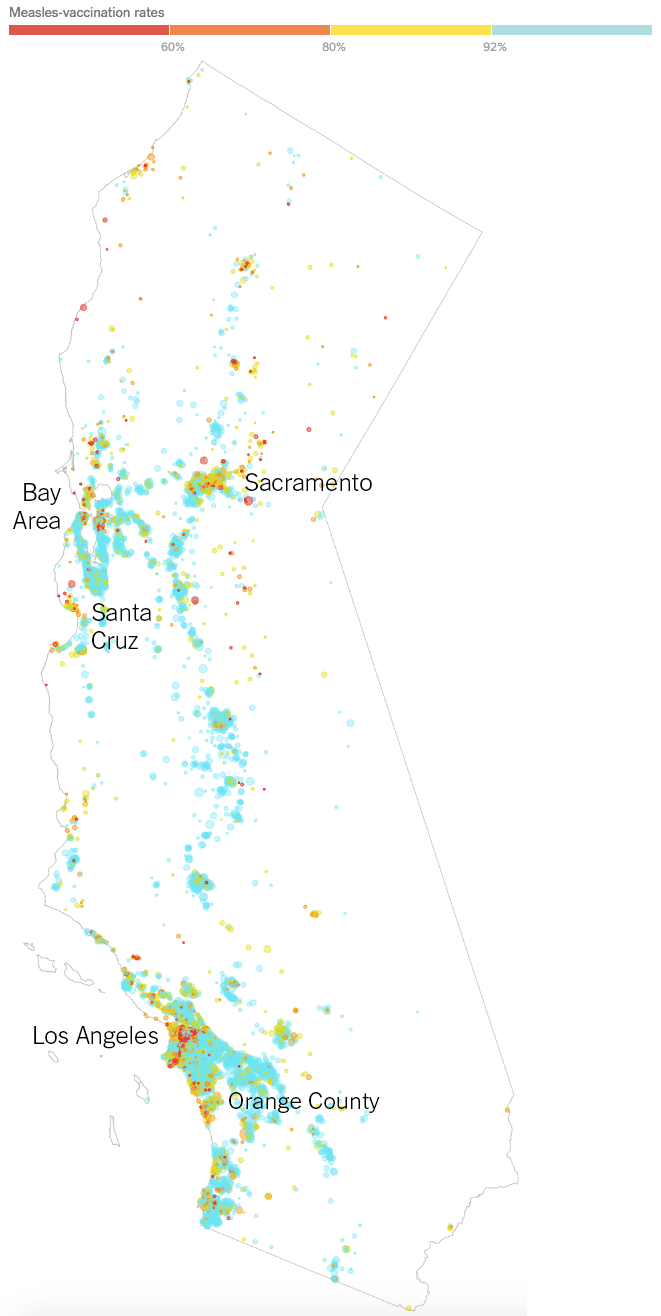 Data Viz Done Right: Vaccination Rates for Every Kindergarten in