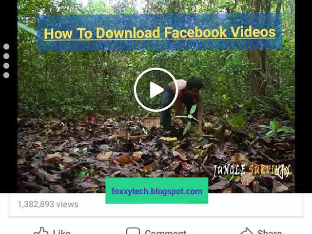 The Easiest Way To Download Facebook Videos On Android, iPhone And Computer