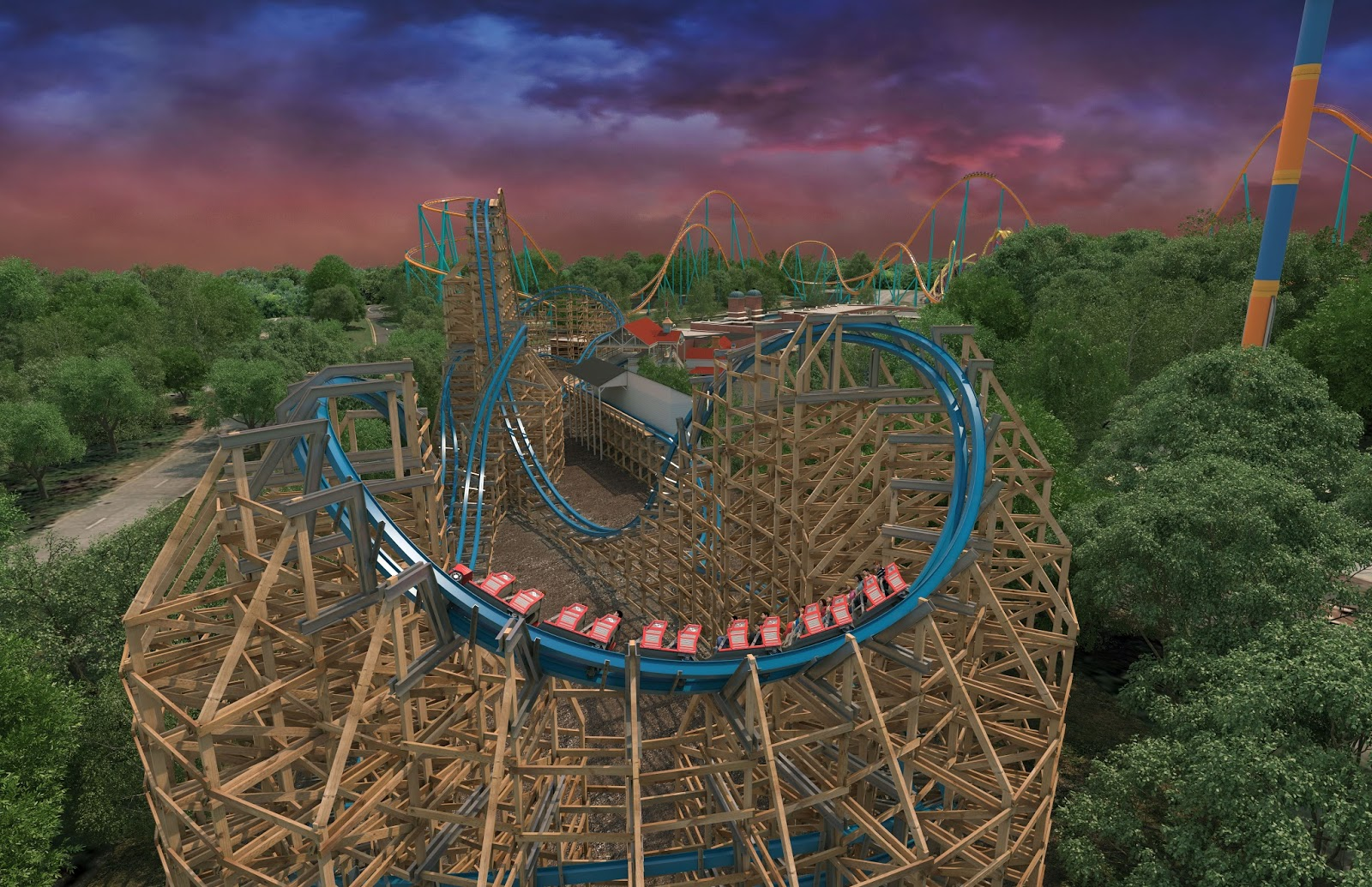 bcda36cc0f2991 Six Flags Parks 2018 New Attractions Confirmed - EVERY New Ride ...