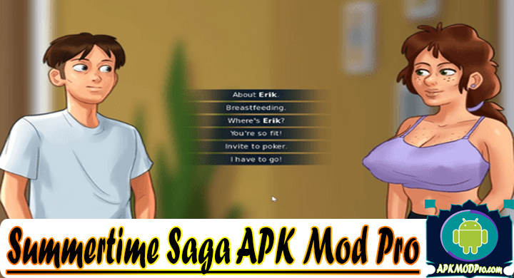 Summertime Saga APK 2 (MODMenu) Apk Mod Pro Terbaru 2020