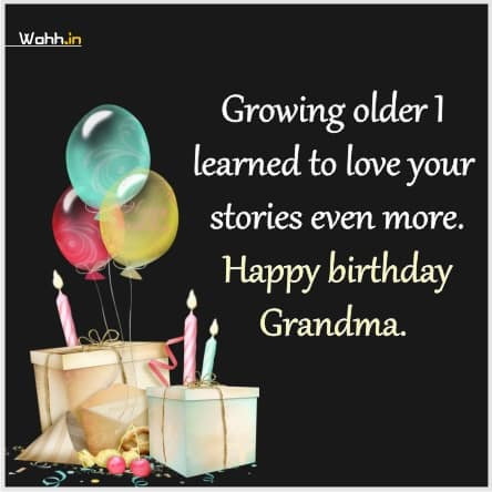 happy birthday message to grandmother