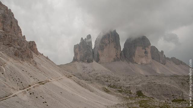 Tres Cimas de Lavaredo ruta Dolomitas viaje