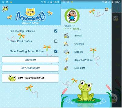 Download BBM Mod Tema Katak
