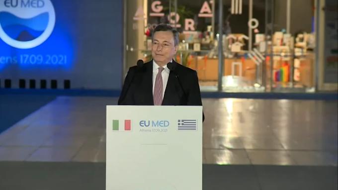 """Draghi: """"L'Italia donerà 45 milioni di dosi di vaccino entro l'anno"""""""