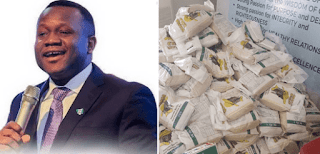 Dominion City distributes food to Lagosians to ease effect of lock down