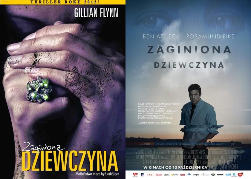 Zaginiona dziewczyna - książka i film.