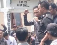 Gelar Aksi Demonstrasi, Massa PPMT Tuntut Transparansi Penggunaan Dana Desa Tawali