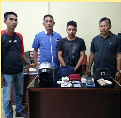 Bandit Jalanan Menung Ditangkap Polisi